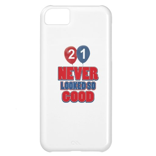 21 year old birthday designs iPhone 5C cases