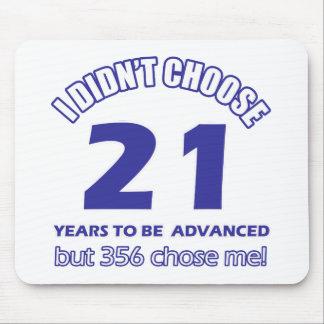21 years advancement mousepad