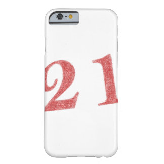 21 years anniversary barely there iPhone 6 case