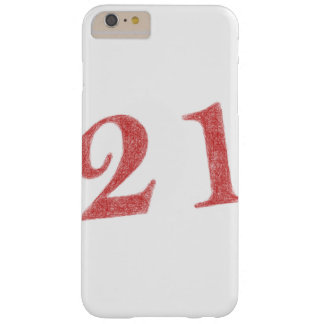21 years anniversary barely there iPhone 6 plus case