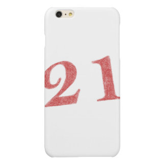 21 years anniversary iPhone 6 plus case