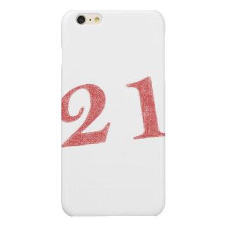 21 years anniversary iPhone 6 plus case