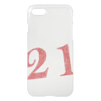 21 years anniversary iPhone 7 case