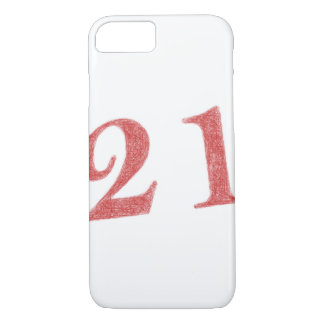 21 years anniversary iPhone 7 case