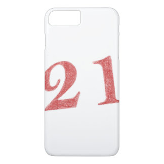 21 years anniversary iPhone 7 plus case
