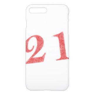 21 years anniversary iPhone 7 plus case