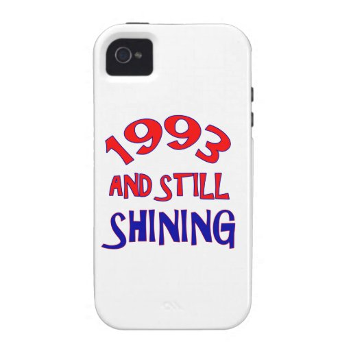 21 years Old birthday designs iPhone 4/4S Cases