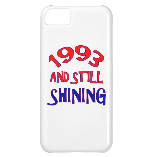 21 years Old birthday designs Case For iPhone 5C