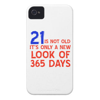 21 years Old birthday designs iPhone 4 Case-Mate Cases