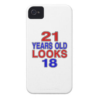 21 Years Old Looks 18 iPhone 4 Case-Mate Cases