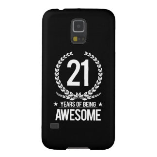 21st Birthday (21 Years Of Being Awesome) Galaxy S5 Covers