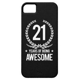 21st Birthday (21 Years Of Being Awesome) iPhone 5 Cover