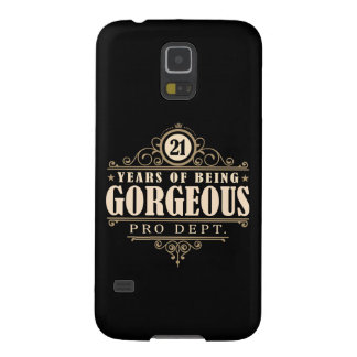 21st Birthday (21 Years Of Being Gorgeous) Galaxy S5 Cases