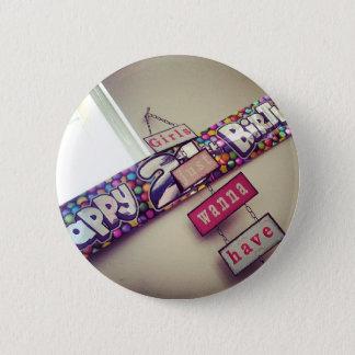 21st Birthday 6 Cm Round Badge