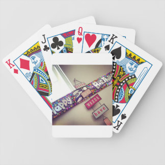21st Birthday Bicycle Playing Cards
