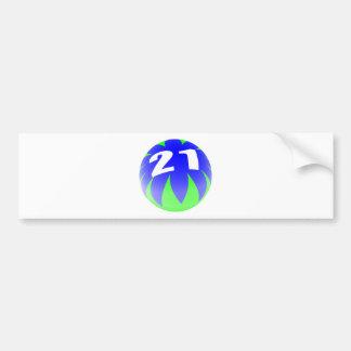21st Birthday Bumper Sticker