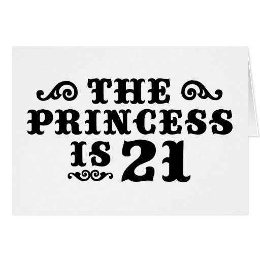21st Birthday Greeting Cards
