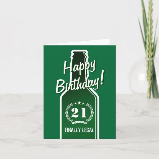 21st Birthday Card For Son