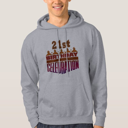 21st Birthday Celebration Gifts Hoodie