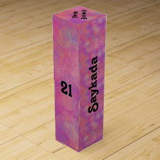 21st Birthday Celebration Wine Gift Box