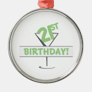 21st Birthday! Christmas Ornament