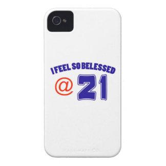 21st Birthday Design iPhone 4 Case-Mate Cases