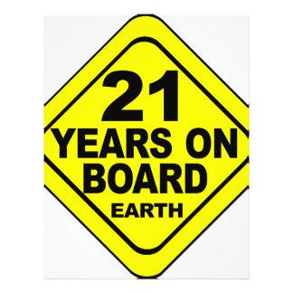 21st Birthday Custom Flyer