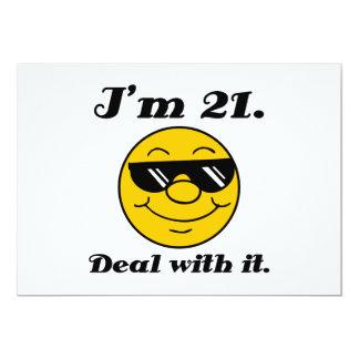 21st Birthday Gag Gift Card