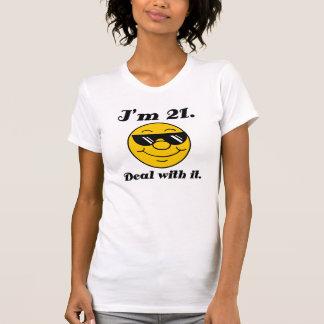 21st Birthday Gag Gift Tee Shirts