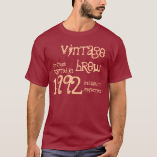 21st Birthday Gift 1992 Vintage Brew For Him V04 T-Shirt