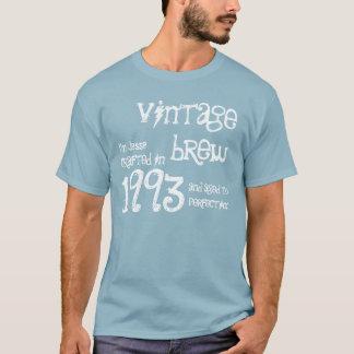 21st Birthday Gift 1993 Vintage Brew Denim Blue T-Shirt