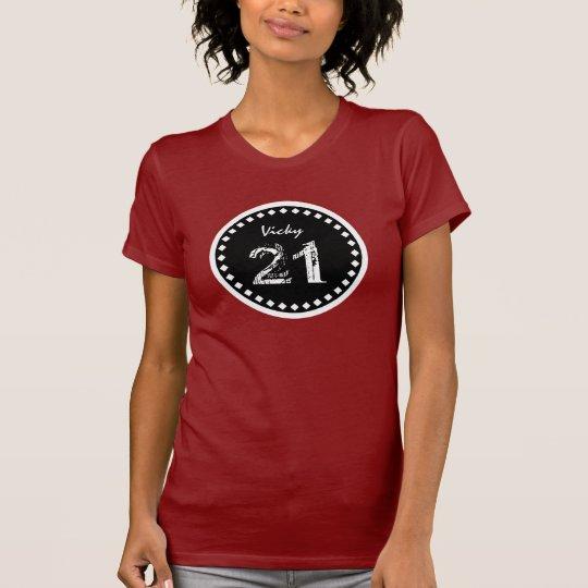 21st Birthday Gift Custom Name V21 T-Shirt