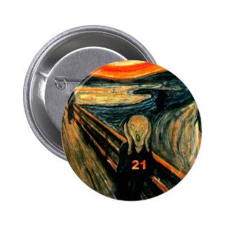 21st Birthday Gifts 6 Cm Round Badge
