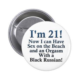 21st Birthday Gifts Button