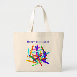 21st Birthday Gifts Jumbo Tote Bag