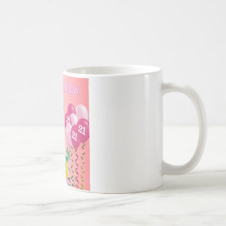 21st Birthday Granddaughter Poem Coffee Mug