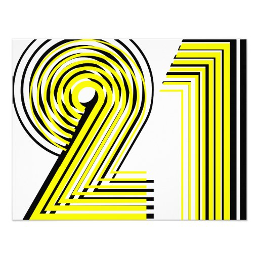21st Birthday Announcement