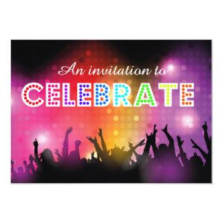 21st birthday Invite