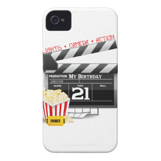 21st Birthday Movie Party iPhone 4 Covers