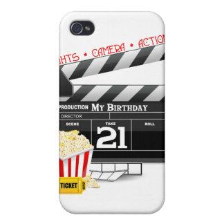 21st Birthday Movie Party iPhone 4/4S Cases