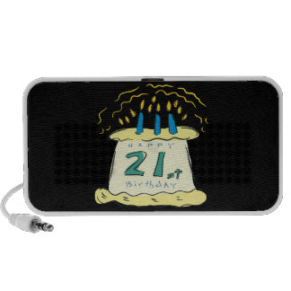 21st Birthday Portable Speaker
