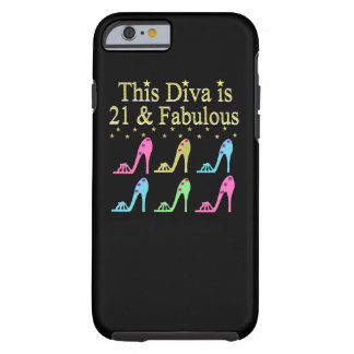 21ST BIRTHDAY SHOE QUEEN DESIGN TOUGH iPhone 6 CASE