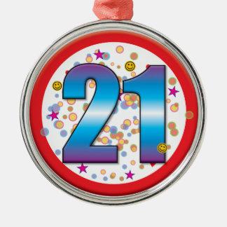 21st Birthday v2 Christmas Ornament