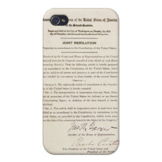 21st Constitutional Amendment Ending Prohibition Case For The iPhone 4