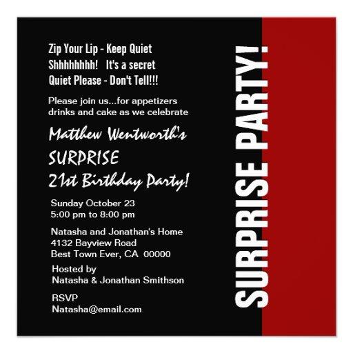 Black & White Invitations is adorable invitation layout