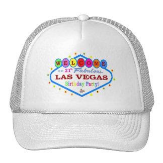 21th Birthday Las Vegas Cap Hat
