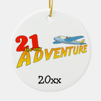 21The New Adventure Plane Keepsake Ornament