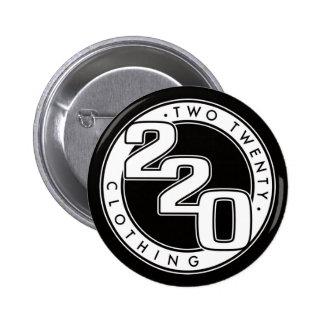 220 Clothing Logo Pinback Button