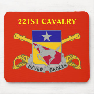 221ST CAVALRY MOUSEPAD