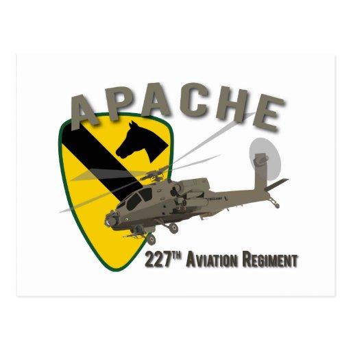 227th Aviation Apache Post Card